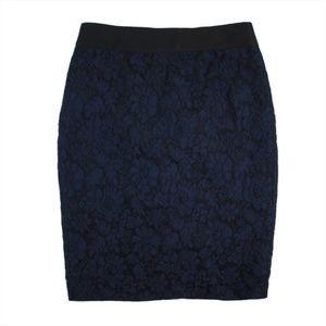 J.Crew Heirloom Lace No.2 Pencil Skirt